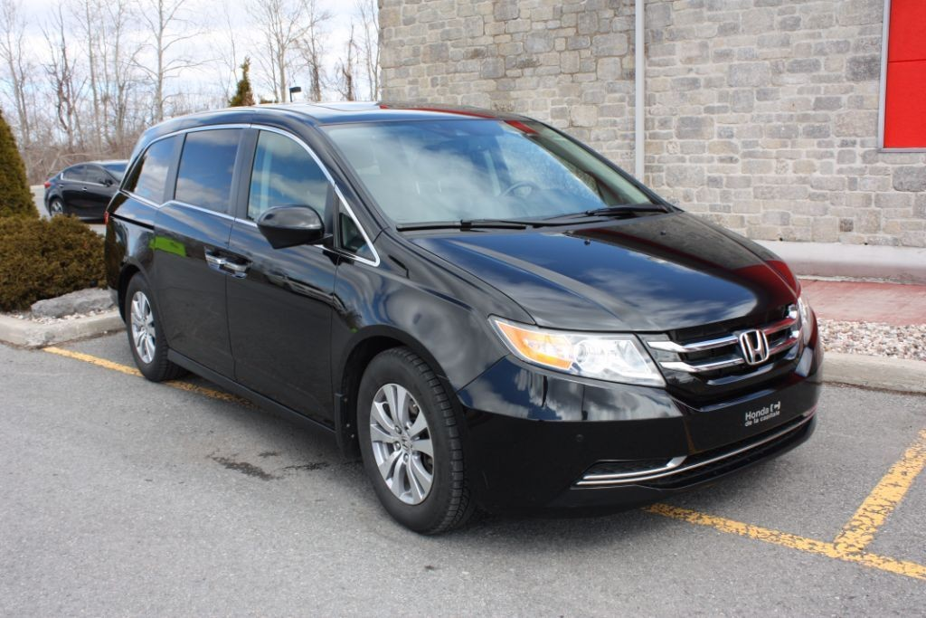 used 2014 honda odyssey ex l w navi for sale in cornwall ontario. Black Bedroom Furniture Sets. Home Design Ideas