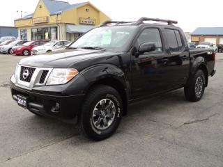 Used 2017 Nissan Frontier Pro-4X CrewCab 4.0 L 4X4 for sale in Brantford, ON
