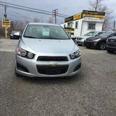 Used 2013 Chevrolet Sonic Pre-Owned Certified- LS Special Order  Manual for sale in Scarborough, ON
