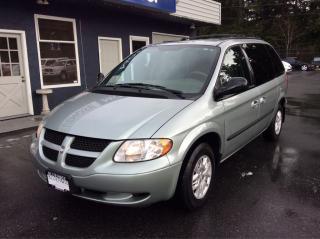 Used 2003 Dodge Caravan SE on sale for sale in Parksville, BC