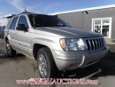 Used 2004 Jeep Grand Cherokee Limited 4D Utility 4WD for sale in Calgary, AB