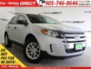 Used 2014 Ford Edge SE| BACK UP SENSORS| OPEN SUNDAYS| for sale in Burlington, ON
