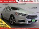 Used 2016 Ford Fusion SE| BACK UP CAMERA & SENSORS| POWER SEATS| for sale in Burlington, ON