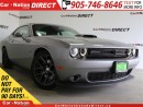 Used 2016 Dodge Challenger Scat Pack Shaker| 485 HP| BLIND SPOT DETECTION| for sale in Burlington, ON