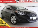 Used 2016 Hyundai Elantra GL| HEATED SEATS| ONE PRICE INTEGRITY| for sale in Burlington, ON