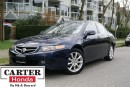 Used 2006 Acura TSX BLUETOOTH + LEATHER + ALLOYS + SUNROOF + LOCAL! for sale in Vancouver, BC