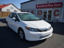 Used 2012 Honda Civic LX 4dr Sedan for sale in Brantford, ON