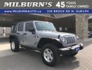 Used 2014 Jeep Wrangler UNLIMITED SPORT for sale in Guelph, ON