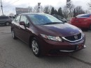 Used 2013 Honda Civic LX-HEATED SEATS-BLUETOOTH -LOW KMS for sale in Komoka, ON