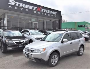 Used 2011 Subaru Forester X Convenience ACCIDENT FREE|A/C|BLUETOOTH for sale in Markham, ON