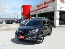 Used 2016 Honda CR-V Touring for sale in Orillia, ON