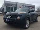 Used 2012 Nissan Juke SV for sale in Timmins, ON