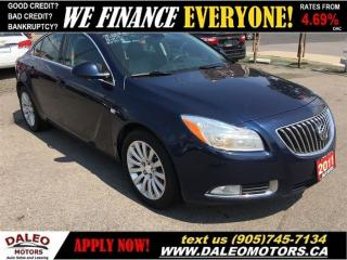 Used 2011 Buick Regal CXL 74KM LEATHER 2.4L for sale in Hamilton, ON