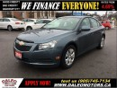 Used 2012 Chevrolet Cruze LT Turbo NO CREDIT CHECK LEASING for sale in Hamilton, ON