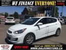 Used 2013 Hyundai Accent GLS 53 KM HEATED SEATS 1.6 L for sale in Hamilton, ON