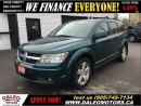 Used 2009 Dodge Journey SXT 79 KM V6 7 SEATER SUNROOF for sale in Hamilton, ON