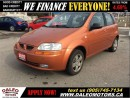 Used 2007 Pontiac Wave5 NO CREDIT CHECK LEASE for sale in Hamilton, ON