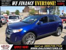 Used 2013 Ford Edge SEL 75KM NAV LEATHER  PANO ROOF  20 WHEELS for sale in Hamilton, ON