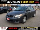 Used 2010 Toyota Corolla CE 104KM ECONOMICAL 1.8L for sale in Hamilton, ON