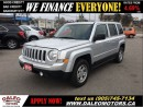 Used 2013 Jeep Patriot NORTH EDITION 2.4 L ECONOMICAL for sale in Hamilton, ON
