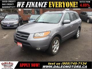 Used 2008 Hyundai Santa Fe Limited | 3.3L V6 | AWD | SUNROOF | LEATHER for sale in Hamilton, ON