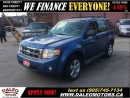 Used 2009 Ford Escape XLT 3.0L V6 AWD 117KM LEATHER SUNROOF for sale in Hamilton, ON