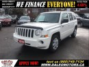 Used 2010 Jeep Patriot Sport/North 4x4 111 KM 2.4 L for sale in Hamilton, ON