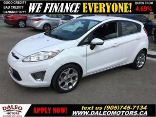 Used 2011 Ford Fiesta SES 1 OWNER 74 KM LEATHER for sale in Hamilton, ON
