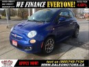 Used 2012 Fiat 500 Sport 74 KM LEATHER SUNROOF for sale in Hamilton, ON