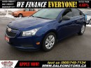 Used 2012 Chevrolet Cruze LS  1 OWNER 107 KM 1.8L for sale in Hamilton, ON