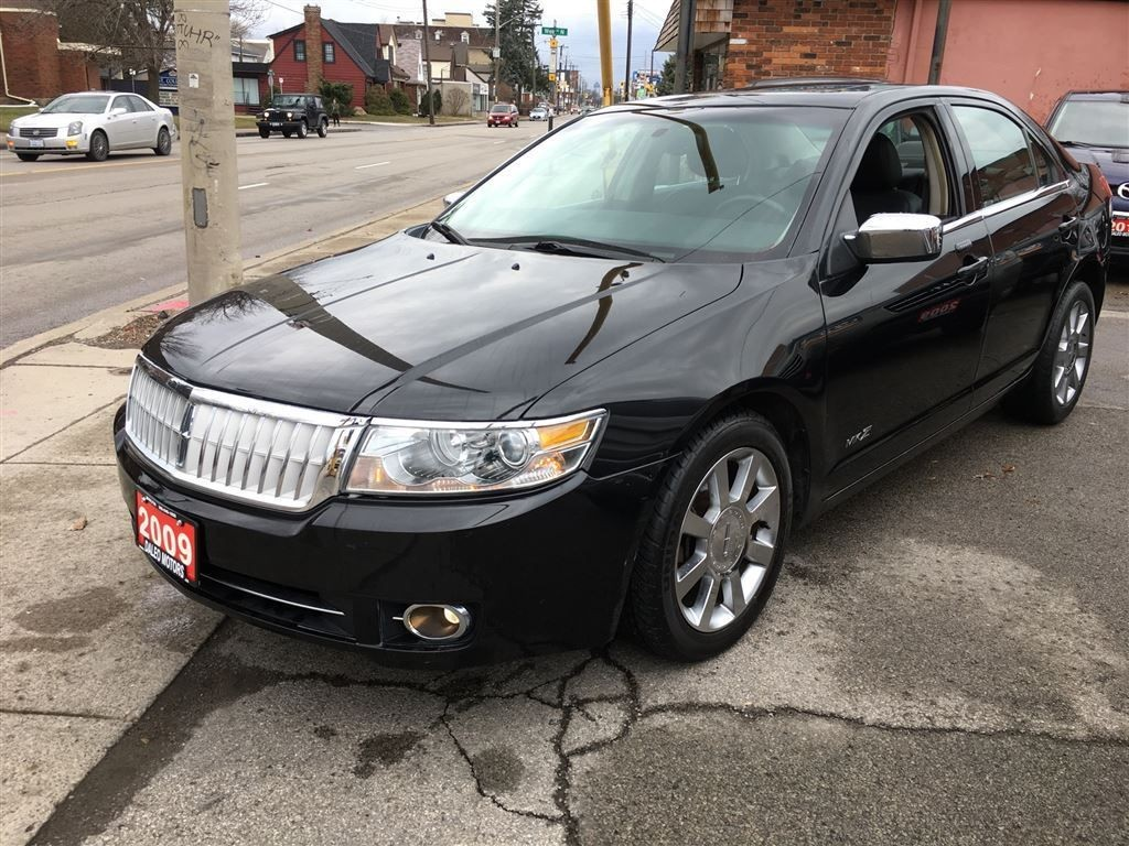 used 2009 lincoln mkz awd 75 km sunroof heated cooled leather for sale in hamilton ontario. Black Bedroom Furniture Sets. Home Design Ideas