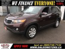Used 2011 Kia Sorento LX ALL WHEEL DRIVE 2.4 L 4 CYL for sale in Hamilton, ON