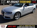 Used 2011 Audi A4 2.0T QUATTRO AWD LEATHER SUNROOF for sale in Hamilton, ON