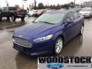 Used 2014 Ford Fusion SE  - Bluetooth -  Sync -  Siriusxm for sale in Woodstock, ON