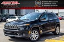Used 2016 Jeep Cherokee Limited |4x4|PanoSunroof|Nav|RearCam|R-Start|DualClimate|18