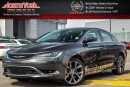 Used 2016 Chrysler 200 C |Sun/SoundPkg|PanoSunroof|Nav|AlpineSound|RearCam|R-Start|19