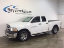 Used 2012 Dodge Ram 1500 ST- 4.7L! 4x4! QUAD! CHROMES! HITCH! LOW KM! for sale in Belleville, ON