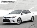 Used 2014 Toyota Corolla CE One Owner. Automatic, A/C and More! for sale in Waterloo, ON