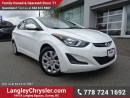 Used 2015 Hyundai Elantra GL ACCIDENT FREE w/ POWER WINDOWS/LOCKS, BLUETOOTH & HEATED FRONT SEATS for sale in Surrey, BC