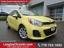 Used 2016 Kia Rio LX+ ACCIDENT FREE w/ POWER WINDOWS/LOCKS, BLUETOOTH & A/C for sale in Surrey, BC