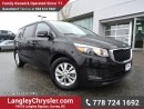 Used 2017 Kia Sedona LX ACCIDENT FREE w/ 8-PASSENGERS, HEATED FRONT SEATS & REAR-VIEW CAMERA for sale in Surrey, BC