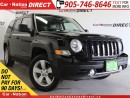 Used 2014 Jeep Patriot Limited| LEATHER| SUNROOF| NAVI| for sale in Burlington, ON
