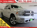 Used 2017 Dodge Ram 1500 Big Horn| 4X4| HEMI| TOUCH SCREEN| LOW KM'S| for sale in Burlington, ON