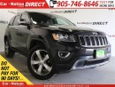 Used 2015 Jeep Grand Cherokee Limited| NAV-READY| LEATHER| 4X4| for sale in Burlington, ON