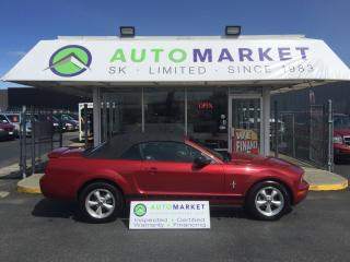 Used 2008 Ford Mustang V6 PREMIUM CONVERT. LEATHER! AUTO! for sale in Langley, BC