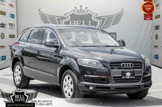 Used 2009 Audi Q7 AWD, BACK-UP CAM, PANO ROOF, SENSORS, HEATED SEATS, LEATHER for sale in Toronto, ON