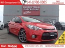 Used 2015 Kia Forte5 1.6L SX   BACK UP CAM   LEATHER   TURBO   for sale in Georgetown, ON