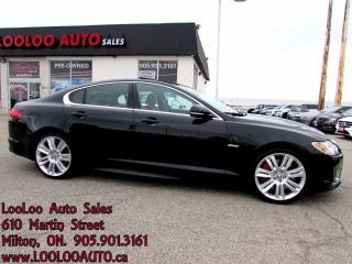 Used 2011 Jaguar XF XFR Navigation Camera Certified 2YR Warranty for sale in Milton, ON