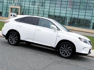 Used 2013 Lexus RX 350 F SPORT|NAVI|REARCAM|HEADS UP DISPLAY for sale in Scarborough, ON