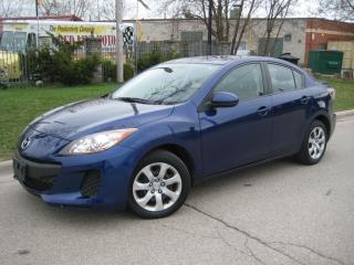 Used 2013 Mazda MAZDA3 GX,AUTO,AIR,POWER GROUP for sale in Mississauga, ON